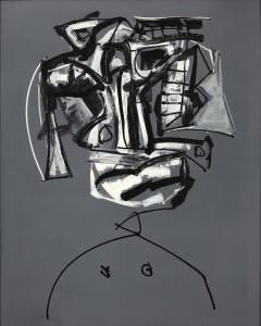 Saura. Lolita, 1960. Óleo sobre lienzo. 162x130 cm.